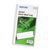 RED51113 Voice Mail Wirebound Log Books, 5 5/8 x 10 5/8, 600 Sets/Book RED 51113