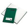RED56521 Emerald Series Account Book, Green Cover, 200 Pages, 9 5/8 x 6 1/4 RED 56521