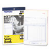 RED5L350 Sales Book, 5 1/2 x 7 7/8, Three-Part Carbonless, 50 Sets/Book RED 5L350