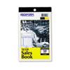 RED5L528 Sales Book, 4 1/4 x 6 3/8, Carbonless Triplicate, 50 Sets/Book RED 5L528
