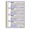 RED8L810 Money Receipt Book, 7 x 2 3/4, Carbonless Duplicate, Twin Wire, 300 Sets/Book RED 8L810