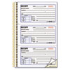 RED8L829 Money Receipt Book, 2 3/4 x 5, Two-Part Carbonless, 225 Sets/Book RED 8L829