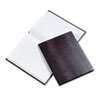 REDA7BURG Executive Notebook, College/Margin Rule, 9-1/4 x 7-1/4, WE/BY, 75 Sheets RED A7BURG