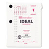 Rediform Brownline Refill for C1S Daily Desk Calendar Pad Stand