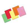 PAC101105 Array Colored Bond Paper, 24lb, 8-1/2 x 11, Assorted Brights, 500 Sheets/Ream PAC 101105