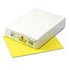 PAC102055 Kaleidoscope Multipurpose Colored Paper, 24lb, 8-1/2 x 11, Lemon Yellow, 500/Rm PAC 102055