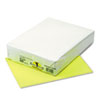 PAC102200 Kaleidoscope Multipurpose Colored Paper, 24lb, 8-1/2 x 11, Hyper Yellow, 500/Rm PAC 102200