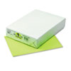 PAC102224 Kaleidoscope Multipurpose Colored Paper, 24lb, 8-1/2 x 11, Lime, 500/Ream PAC 102224