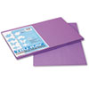 PAC103041 Tru-Ray Construction Paper, 76 lbs., 12 x 18, Violet, 50 Sheets/Pack PAC 103041