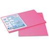 PAC103045 Tru-Ray Construction Paper, 76 lbs., 12 x 18, Shocking Pink, 50 Sheets/Pack PAC 103045