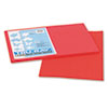 PAC103062 Tru-Ray Construction Paper, 76 lbs., 12 x 18, Red, 50 Sheets/Pack PAC 103062