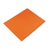 PAC54781 Colored Four-Ply Poster Board, 28 x 22, Orange, 25/Carton PAC 54781