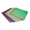 PAC5487 Four-Ply Railroad Board in Ten Assorted Colors, 28 x 22, 100/Carton PAC 5487