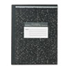 ROA77910 Marble Cover Composition Book, Wide Rule, 9-3/4 x 7-1/2, 50 Pages ROA 77910