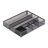 Rolodex Metal Mesh Deep Desk Drawer Organizer