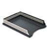 ROLE23565 Distinctions Self-Stacking Letter Desk Tray, Metal/Black ROL E23565