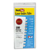 RTG33001 Laser Printable Index Tabs, 7/16 Inch, White, 180/Pack RTG 33001
