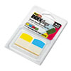 RTG33148 Write-On Self-Stick Index Tabs/Flags, 1 1/16 Inch, 4 Colors, 48/Pack RTG 33148