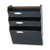 RUBL16603 Classic Hot File Wall File Systems, Letter, Three Pockets, Smoke RUB L16603