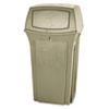 RCP843088BG Ranger Fire-Safe Container, Square, Structural Foam, 35 gal, Beige RCP 843088BG