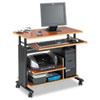 Safco Adjustable Height Mini-Tower Computer Workstation