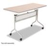 SAF2030SL Impromptu Mobile Training Table Base, 37-1/2w x 24d x 28h, Silver SAF 2030SL