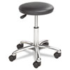 SAF3434BL Height Adjustable Lab Stool, 13-1/2 dia. x 21h, Black SAF 3434BL