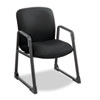 SAF3492BL Uber Series Big & Tall Sled Base Guest Chair, Black SAF 3492BL