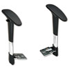 Safco Optional Height-Adjustable T-Pad Arms for Safco Metro Extended Height Chair