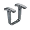Safco Optional Height-Adjustable T-Pad Arms