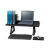 SAF3602BL Value Mate Desk Riser, 100-Pound Capacity, 30 x 12 x 8, Black SAF 3602BL