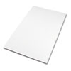 SAF3948 Drafting Table Top, Rectangular, 60w x 37-1/2d, White SAF 3948