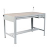 SAF3962GR Precision Four-Post Drafting Table Base, 56-1/2w x 30-1/2d x 35-1/2h, Gray SAF 3962GR