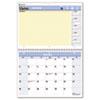 AT-A-GLANCE QuickNotes Desk/Wall Calendar