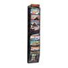 SAF5579BL Mesh Literature Rack, 10 Compartments, 10-1/4w x 3-1/2d x 50-3/4h, Black SAF 5579BL