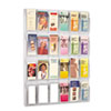 Safco Reveal Clear Literature Displays