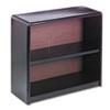 SAF7170BL Value Mate Series Bookcase, 2 Shelves, 31-3/4w x 13-1/2d x 28h, Black SAF 7170BL