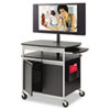 Safco Scoot Flat Panel Multimedia Carts