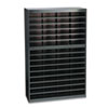 Safco E-Z Stor Literature Centers with Steel Frames and Shelves