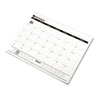 AT-A-GLANCE One-Color Monthly Desk Pad Calendar Refill