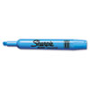 SAN25010 Accent Tank Style Highlighter, Chisel Tip, Blue, 12/Pk SAN 25010