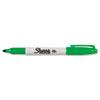 SAN30034 Permanent Marker, Fine Point, Green, 1/Each SAN 30034