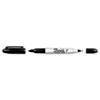 SAN32201 Twin-Tip Permanent Marker, Fine/Ultra Fine, Black SAN 32201
