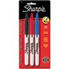 SAN32726PP Retractable Permanent Markers, Fine Point, Assorted, 3/Set SAN 32726PP