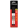 SAN37161PP Permanent Marker, Ultra Fine Point, Black, 2/Pack SAN 37161PP