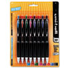 SAN40110 Signo Gel 207 Roller Ball Retractable Gel Pen, Assorted Ink, Medium, 8 per Set SAN 40110
