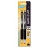 SAN61263PP Signo Gel 207 Roller Ball Retractable Gel Pen, Black Ink, Micro, 2 per Pack SAN 61263PP