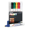 SAN63630 uni-Paint Marker, Medium Point, Assorted, 6/Set SAN 63630