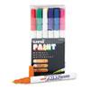 SAN63721 uni-Paint Markers, Fine Point, Assorted, 12/Set SAN 63721
