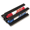 SAN81503 Magnetic Clip Eraser with Markers, Chisel, Assorted 3 Markers/Set SAN 81503